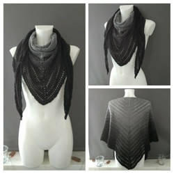 Classic Attitude Shawl by CoondyCreations