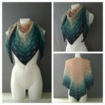 Wave Shawl by CoondyCreations