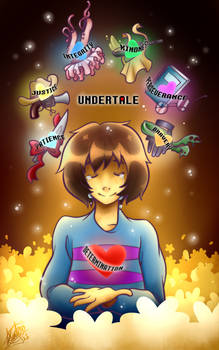 Undertale-Filled with DETERMINATION