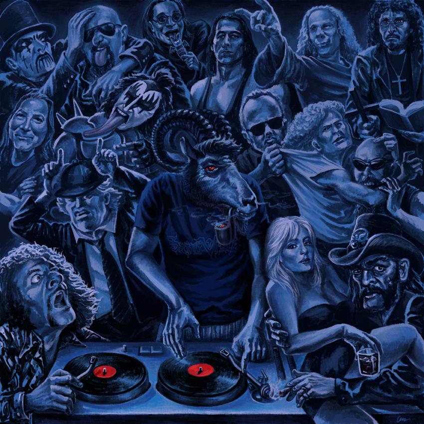 Gods of Metal by goatart