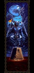 Baphomet Werewolf by goatart