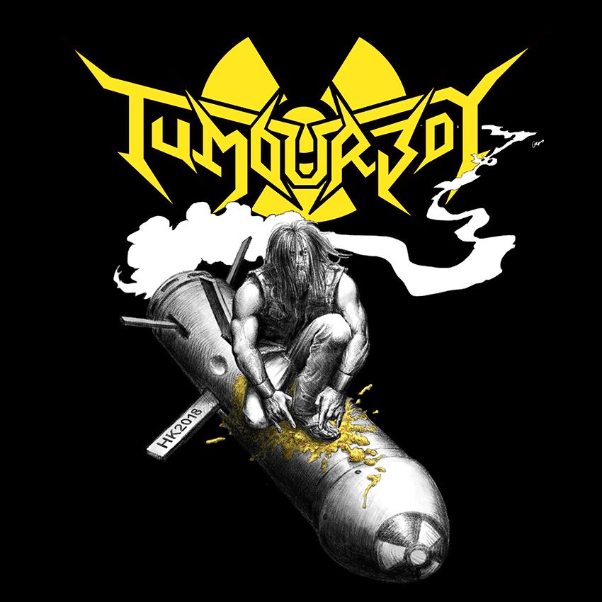 Tumourboy Live in HK T-Shirt Artwork by goatart