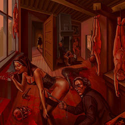 NunSlaughter Split Album Cover