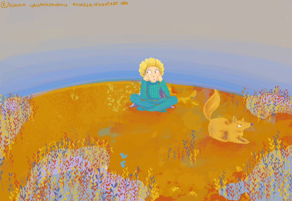 The little prince and the fox by Rycheza