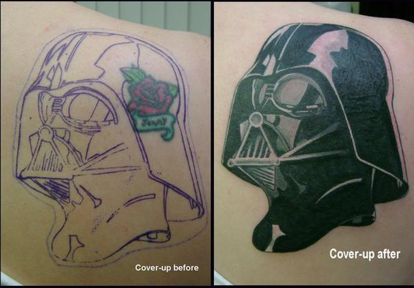 Darth Vader cover-up by hellcatmolly
