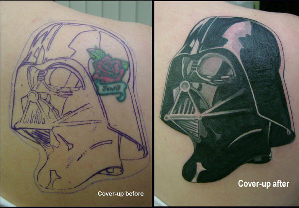 Darth Vader cover-up