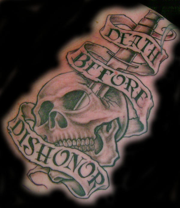 skull and dagger tattoo by *hellcatmolly on deviantART