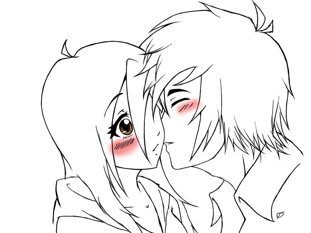Line Drawing Kiss : Stolen kiss lines by xxcherryprincessxx on deviantart