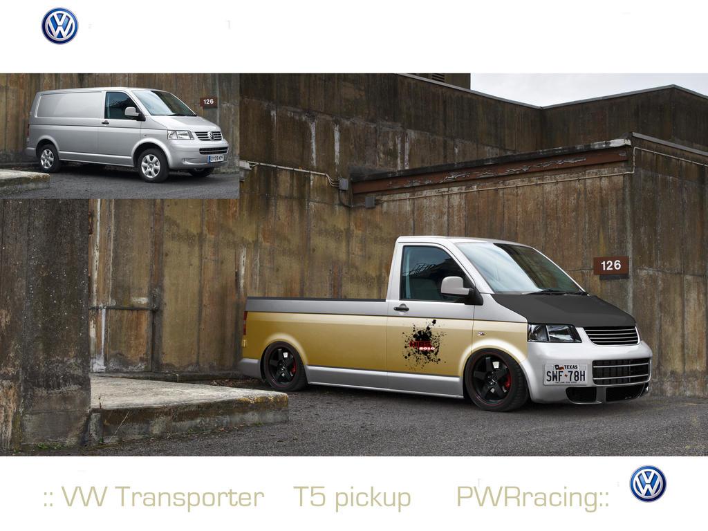 Vw Transporter T5 Pickup Rs By Hybs On Deviantart