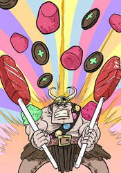 Trove: Candy Barbarian by mattblack