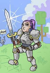 Trove: Knight by mattblack