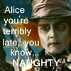 Johnny Depp as Mad Hatter by DeZiiReeDLC