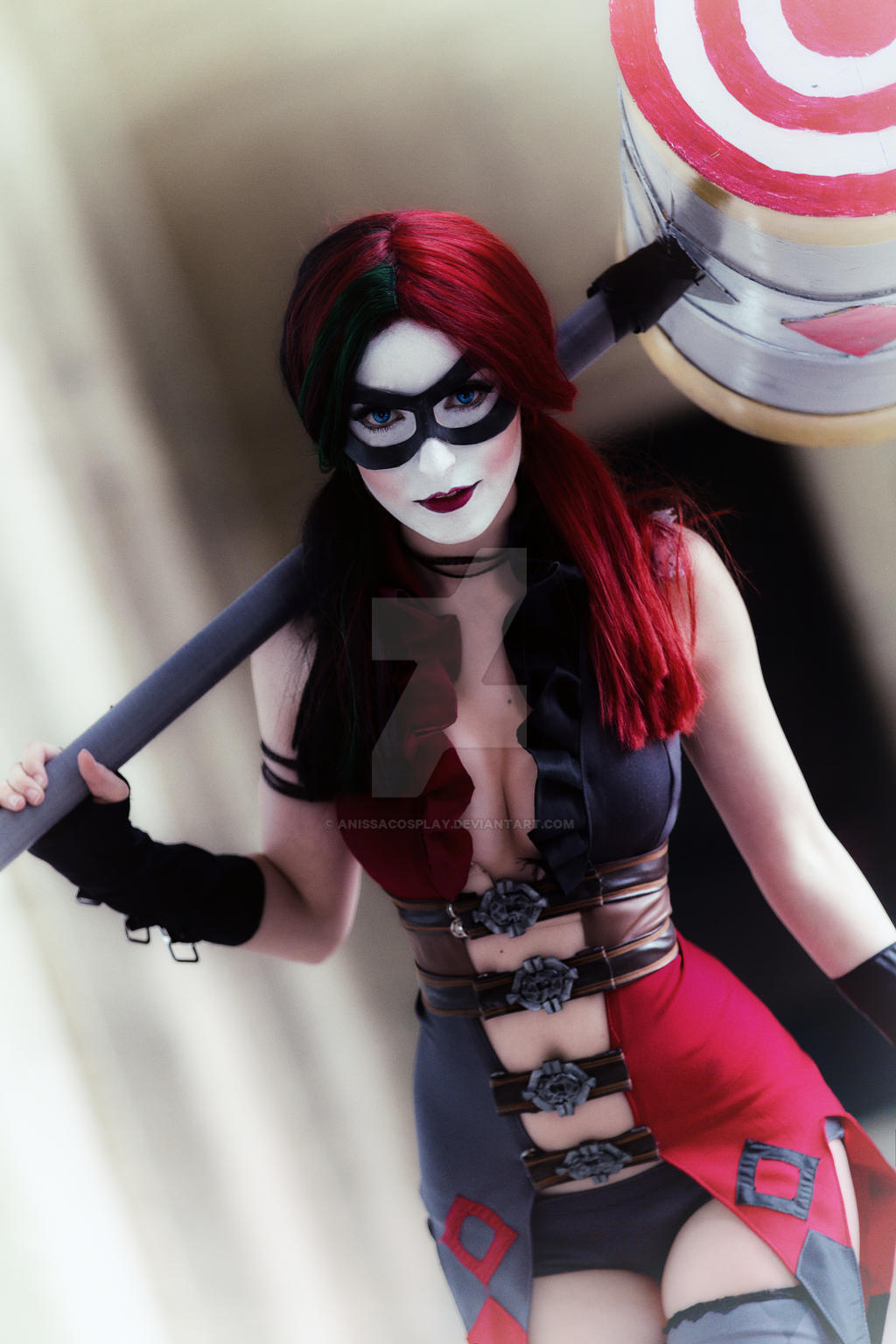 Harley Quinn Cosplay Injustice version by AnissaCosplay on