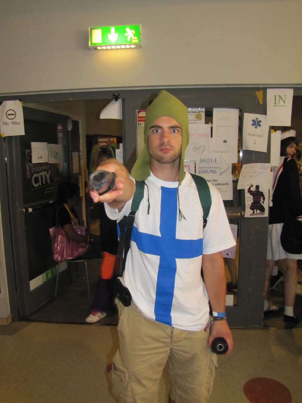 Finland cosplay by tickan