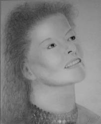 Katherine Hepburn by sleepydawg