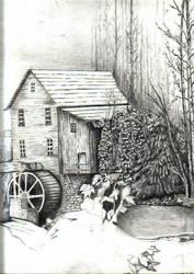 Old Mill by sleepydawg