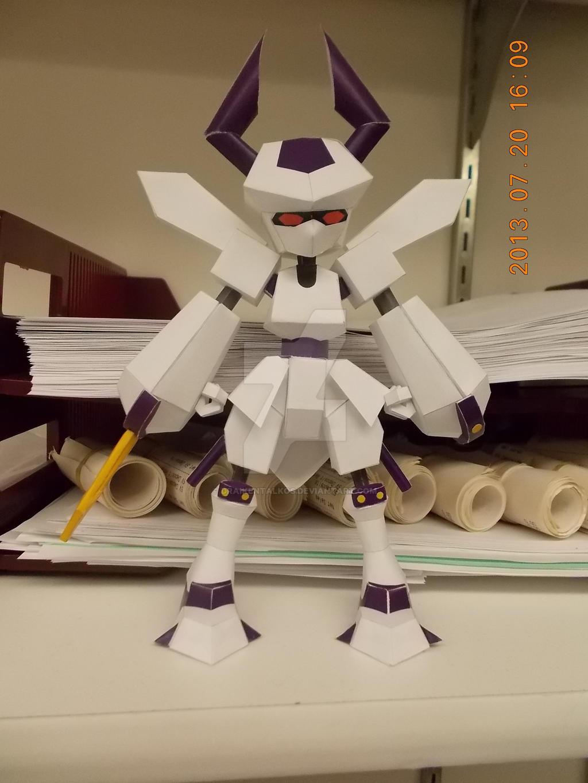 Rokusho Papercraft by DraikenTalkos