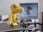 Agumon Papercraft
