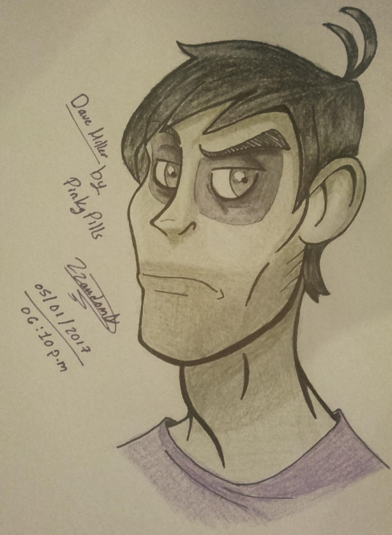 Dave Miller aka William Afton  (PinkPills) by knuxsunz