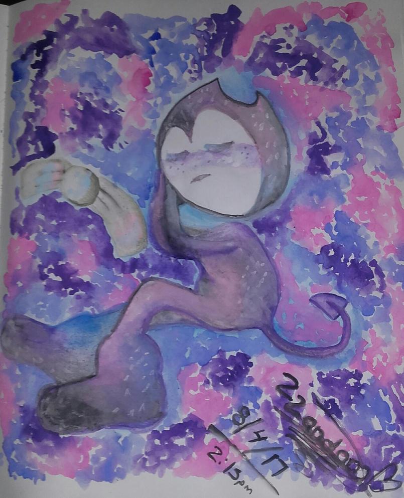 Sweet Dreams Bendy (Watercolor) by knuxsunz