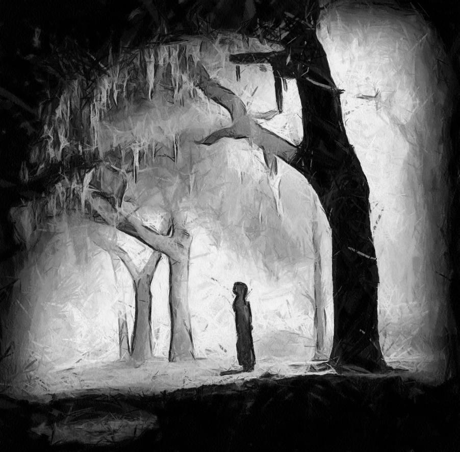 Alone by jessica art