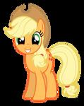 Applejack Smiling