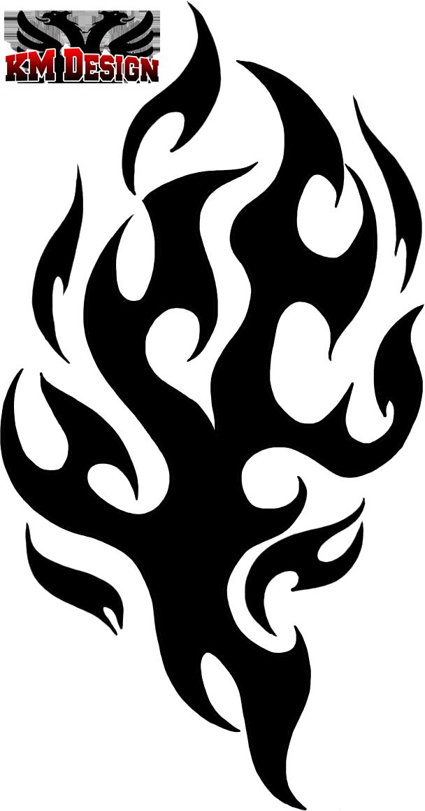 tribal flames by baron997 on deviantart. Black Bedroom Furniture Sets. Home Design Ideas