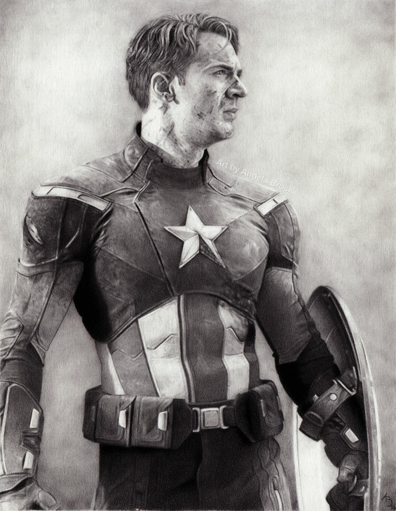 Captain America - Pencil Art