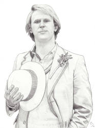 The Fifth Doctor by AngelynnB