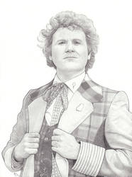 The Sixth Doctor by AngelynnB