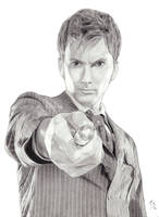The Tenth Doctor by AngelynnB