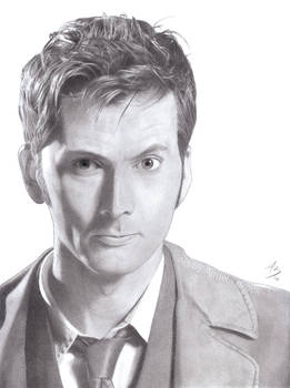 Commission: David Tennant as the Tenth Doctor