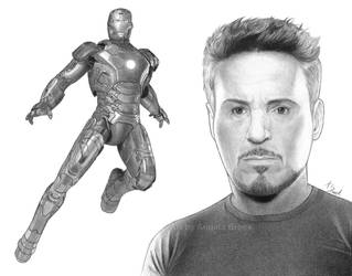 Commission: Tony Stark is Iron Man by AngelynnB