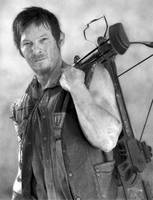 Daryl Dixon - Pencil Art by AngelynnB
