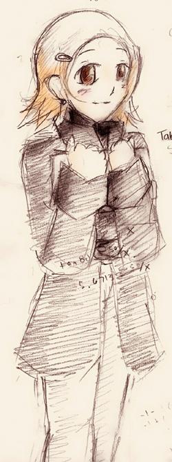 Takenouchi Sora by Etacoll