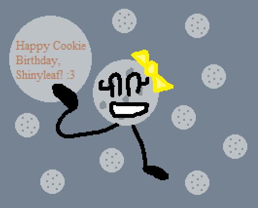 ShinyCookie (BIRTHDAY GIFT) by TheNewBGGAMING