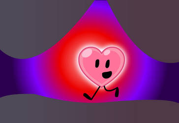 another glowing heart picture by TheNewBGGAMING