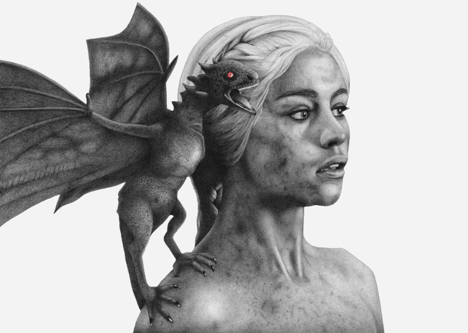 Daenerys Targaryen by lameartist