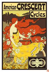 American Crescent Cycles by VectorJones