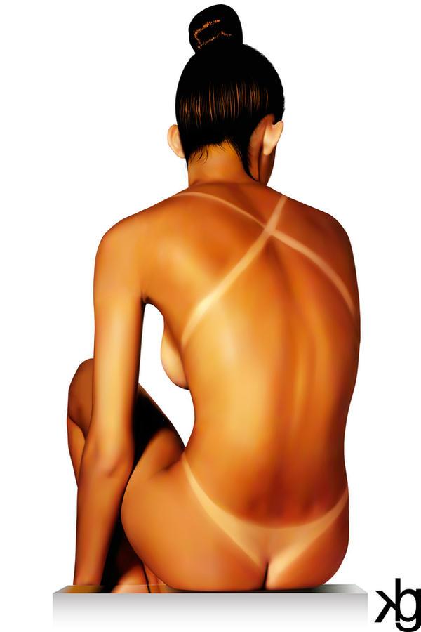 Tan Lines by VectorJones