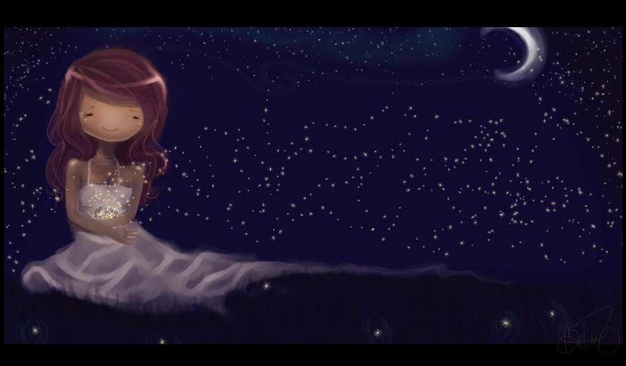 Fireflies by Opheii