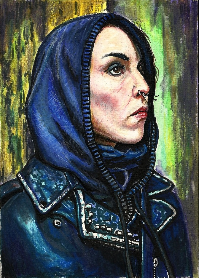 Girl with the dragon tattoo noomi rapace by pevansy on for Noomi rapace the girl with the dragon tattoo