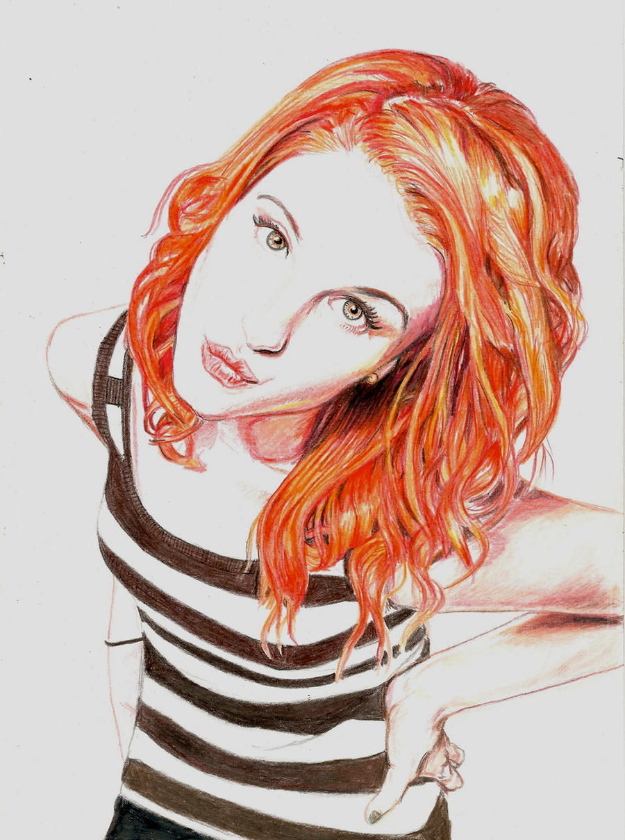 Hayley Williams - Paramore by Pevansy