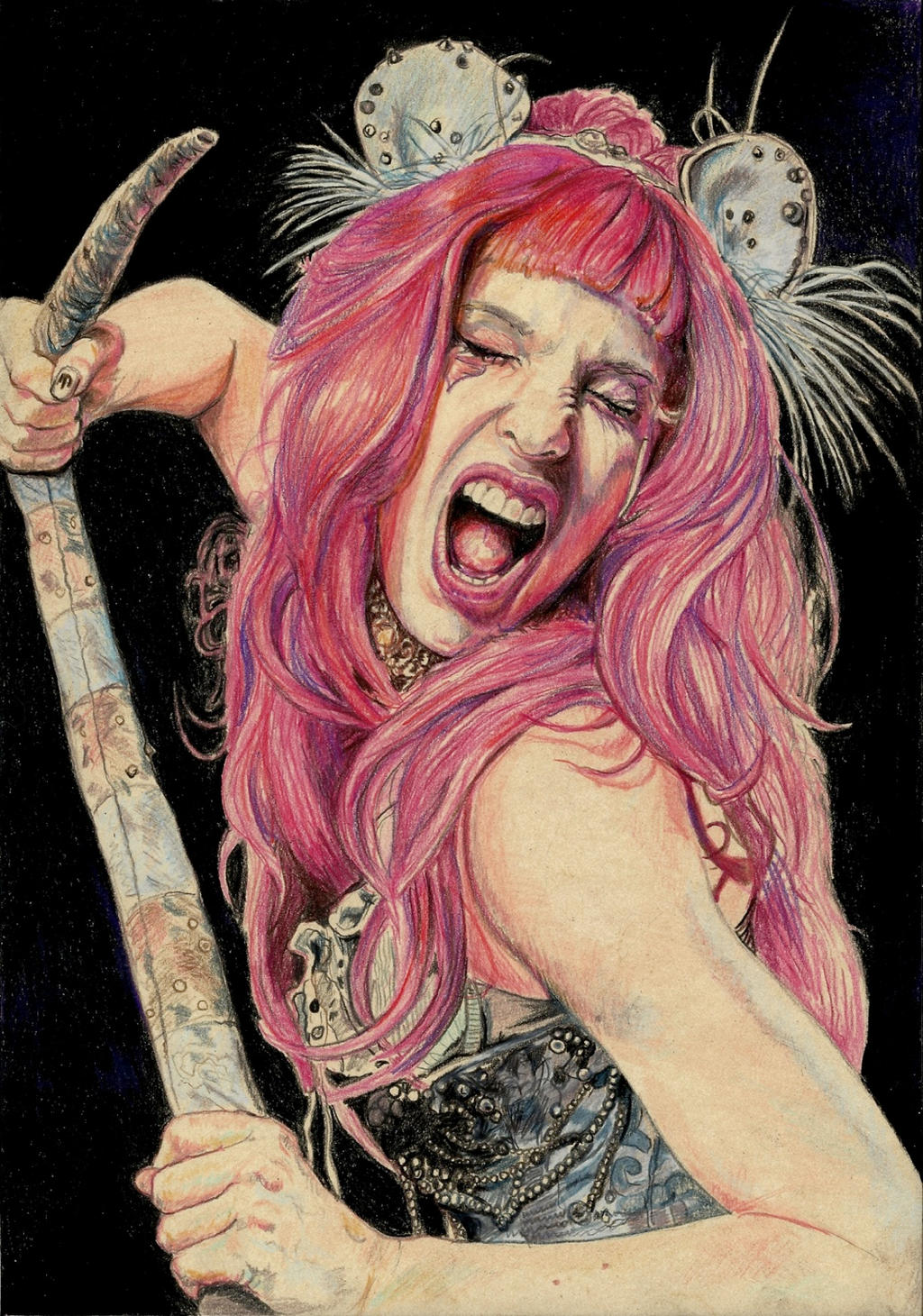 Emilie Autumn Fight like a girl by Pevansy