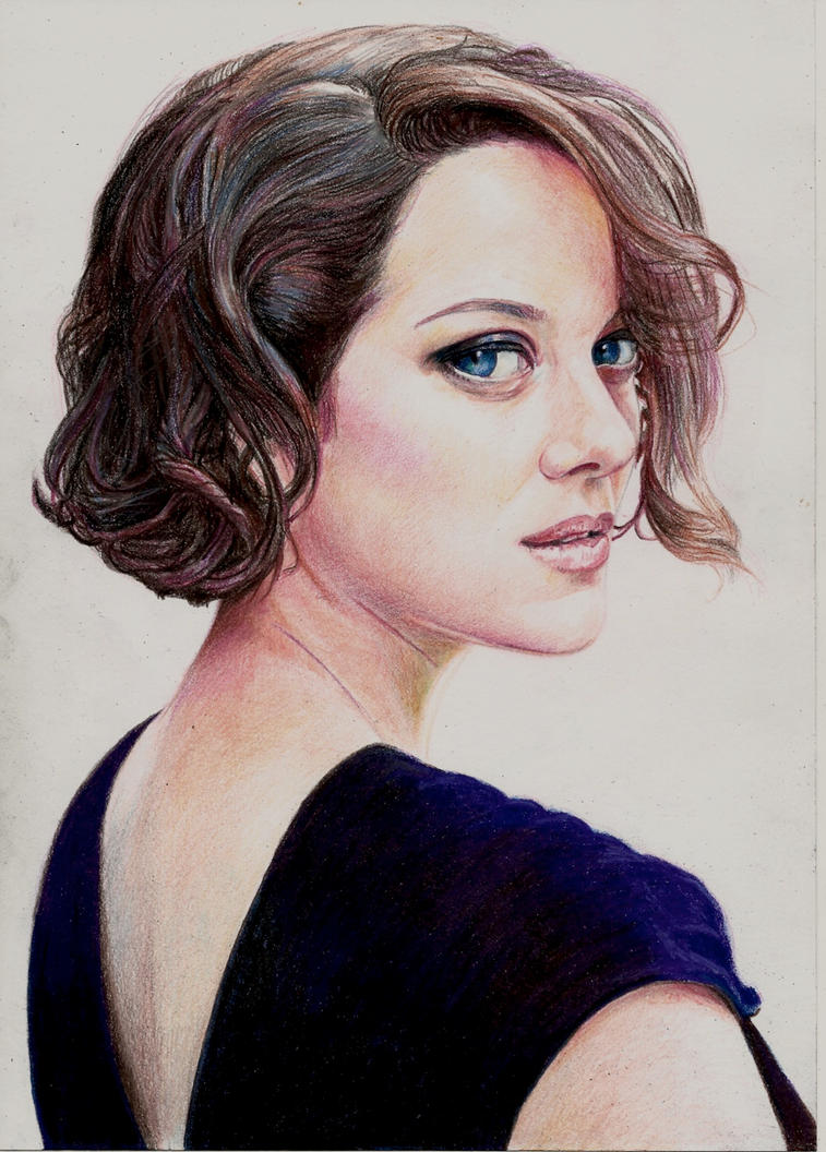 Marion Cotillard by Pevansy