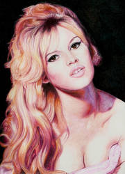 Brigitte Bardot by Pevansy