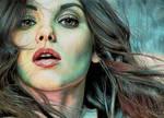 Mila Kunis by Pevansy