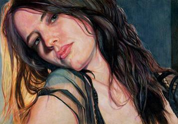 Eva Green by Pevansy