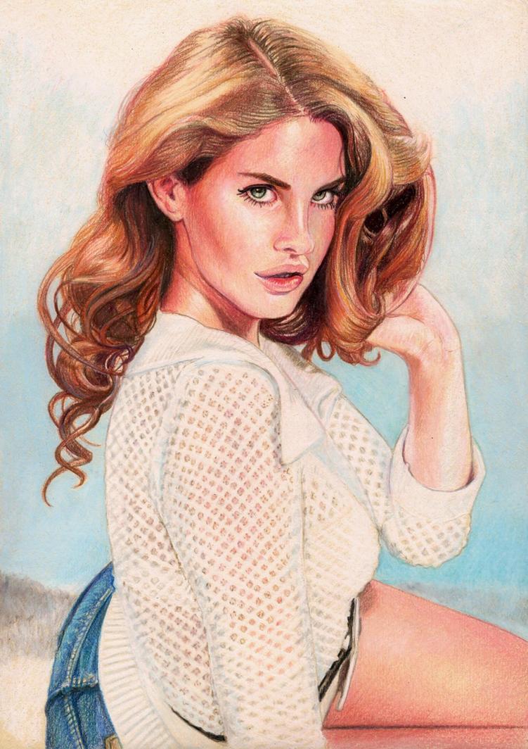 Lana Del Rey Wonderland by Pevansy