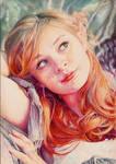 Yulia  Colour Pencil Portrait